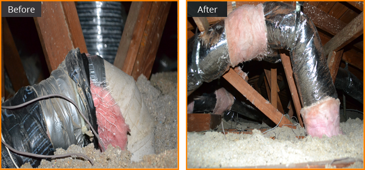 bay area air duct cleaning, attic Insulation