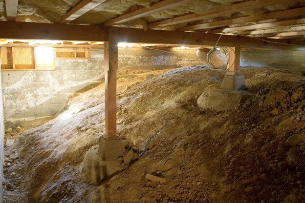 crawl space insulation installation bay area