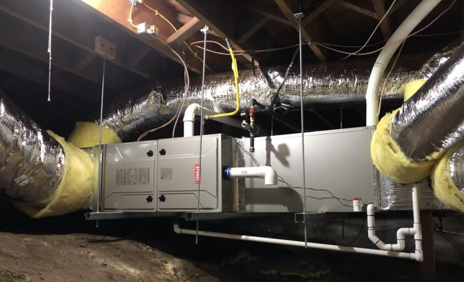 HVAC Air Duct installation