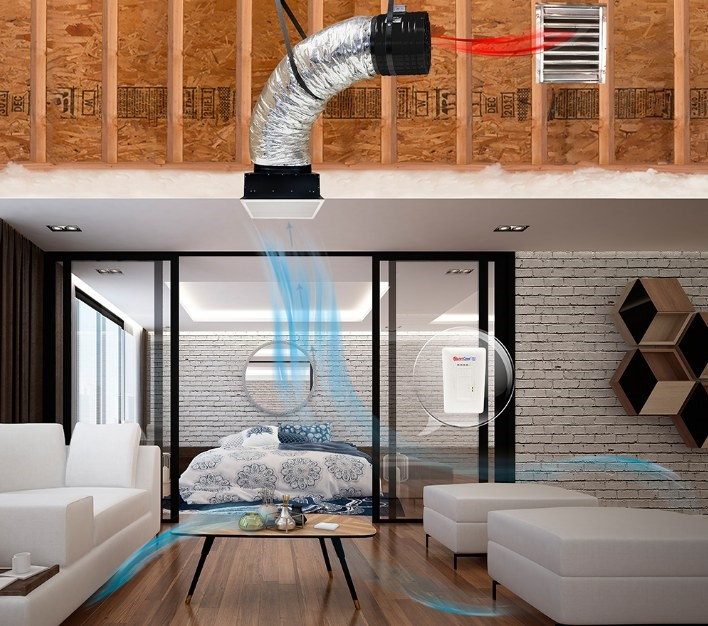 Element Home Solutions Whole House Fans