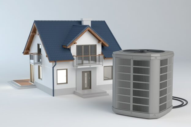 Zoned AC for Two Story Bay Area Home