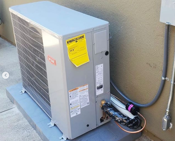 heat pump for Bay Area home