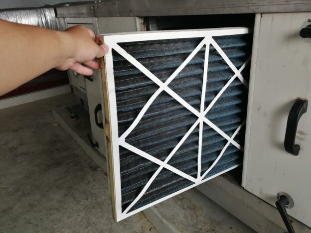Furnace Inspection Air Filter Check